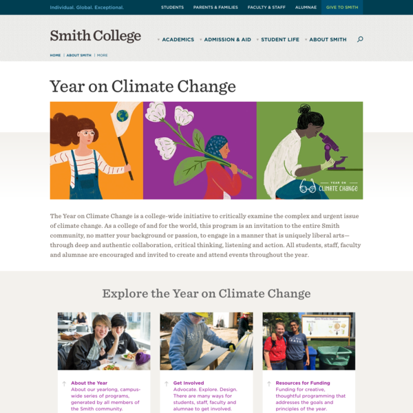 Sustainable Smith - Year on Climate Change - New