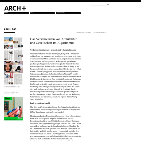 ARCH+ 236
