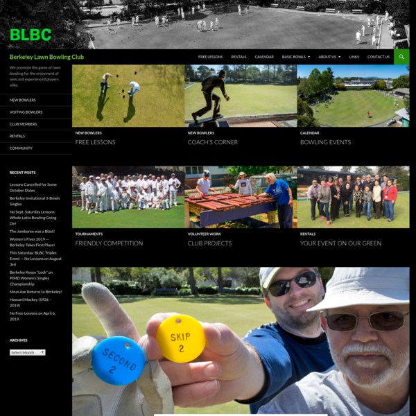 Berkeley Lawn Bowling Club