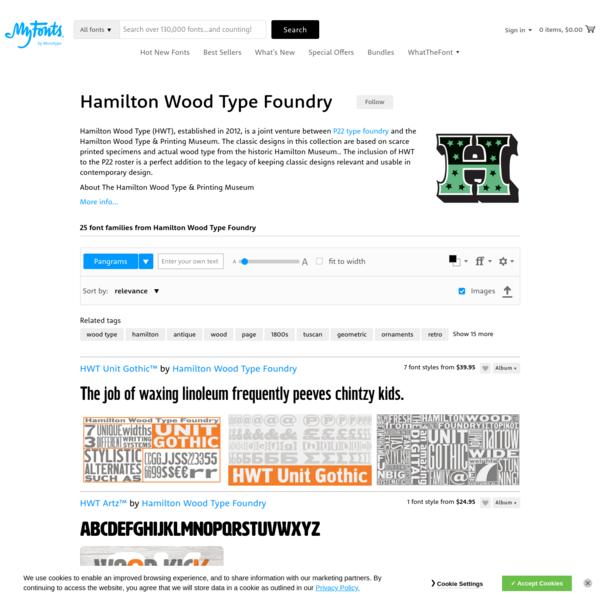 Hamilton Wood Type Foundry