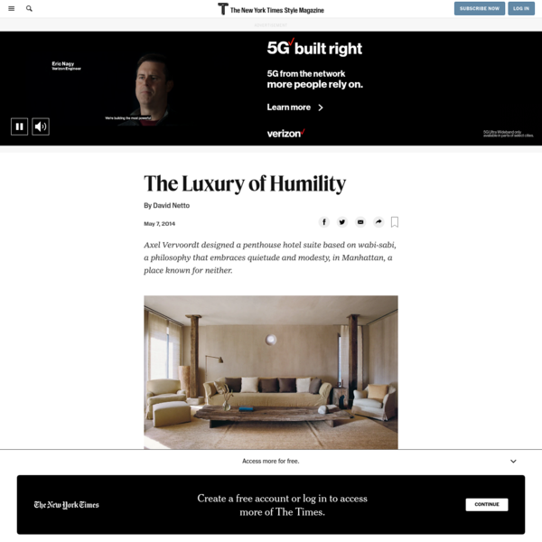 The Luxury of Humility