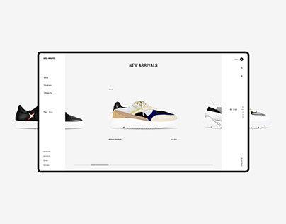 AXEL ARIGATO - Website