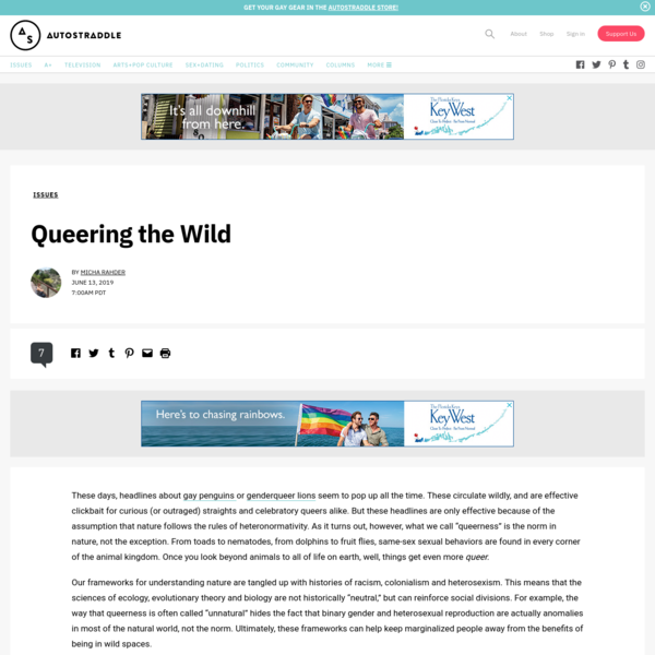 Queering the Wild   Autostraddle