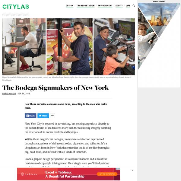 The Art of the Bodega Sign