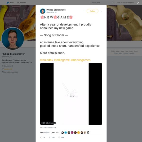 Philipp Stollenmayer on Twitter