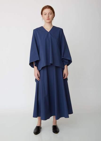 Salopette Poplin Skirt
