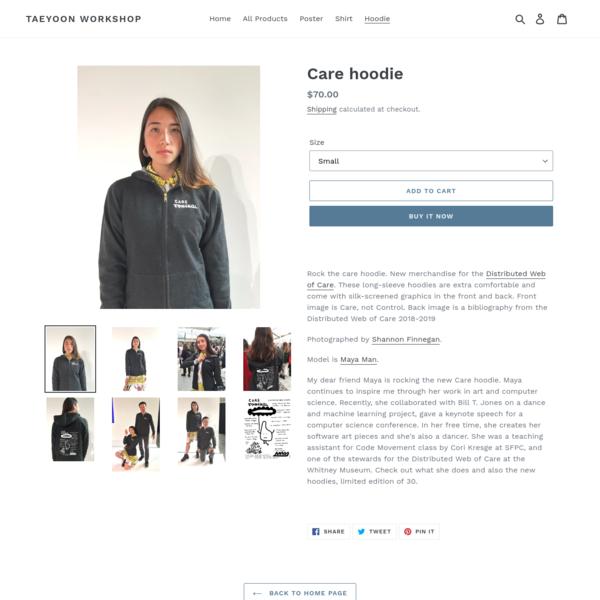 Care hoodie