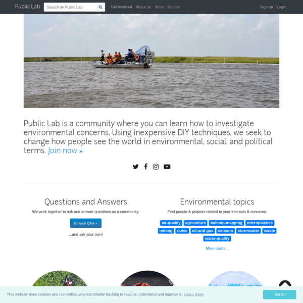 🎈 Public Lab: a DIY environmental science community