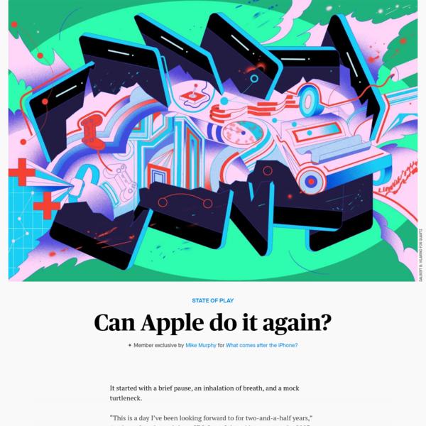 Can Apple do it again?