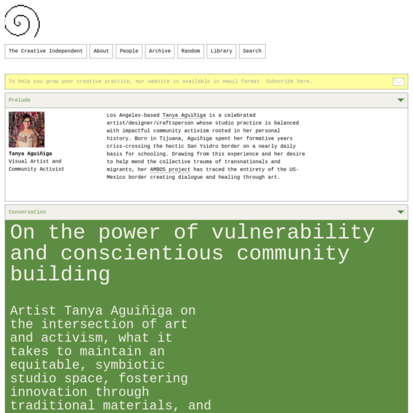 On the power of vulnerability and conscientious community building