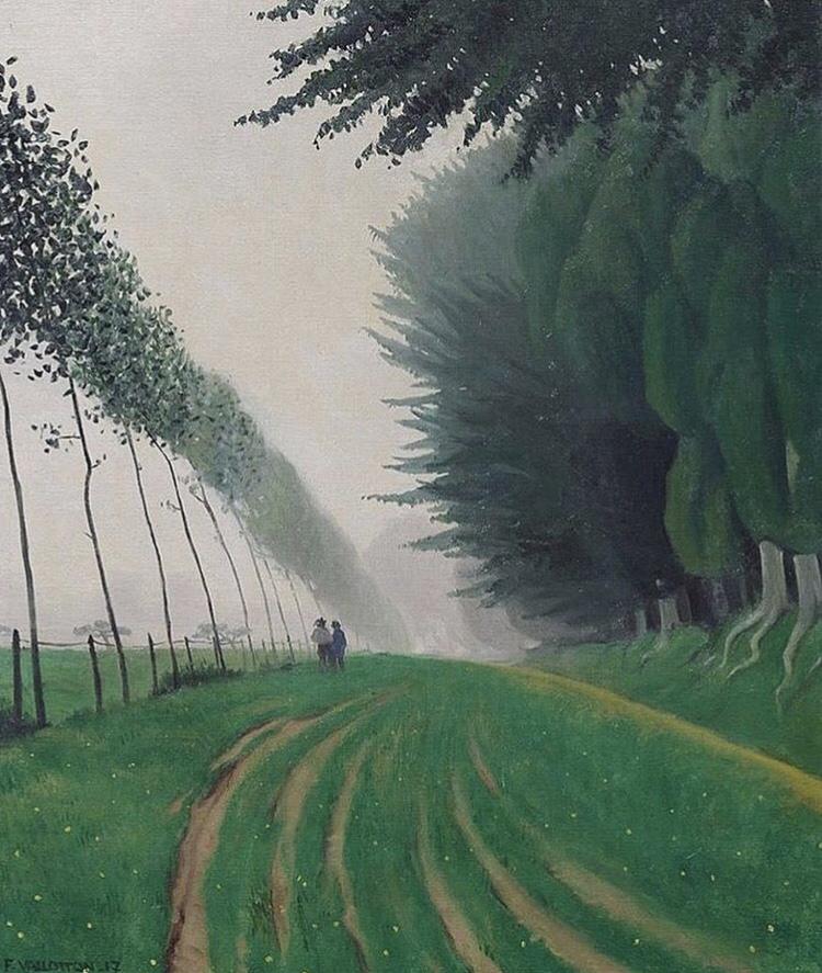 Effet de brume, Honfleur by Felix Vallotton