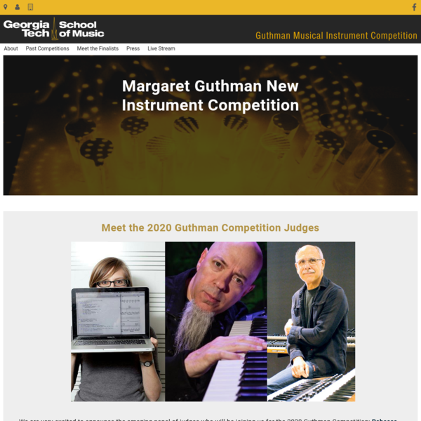 Georgia Institute of Technology Guthman Musical Instrument Design Competition | Georgia Institute of Technology | Atlanta, GA
