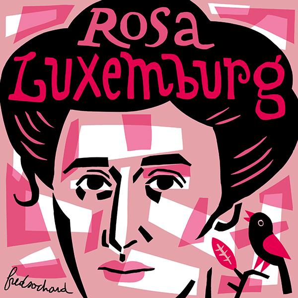 Rosa Luxemburg by Fred Sochard