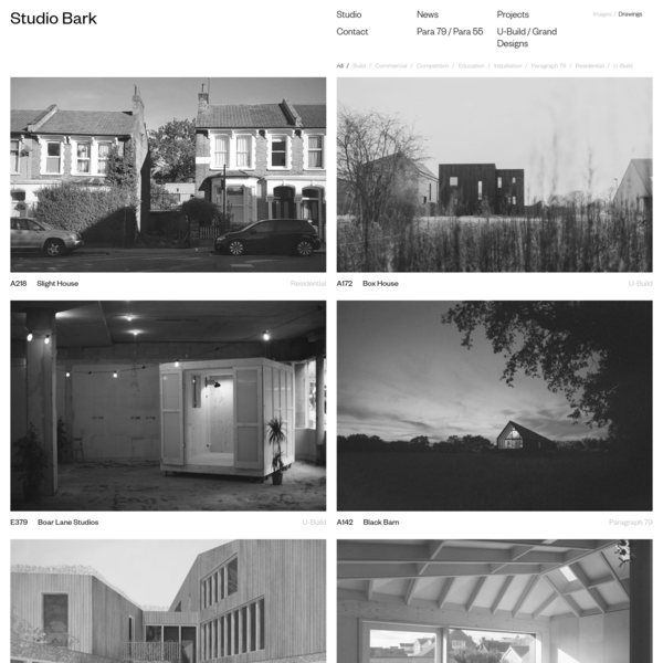 Studio Bark Website - Visit the Home Page