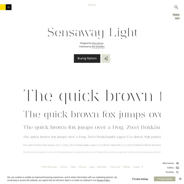 Sensaway Light