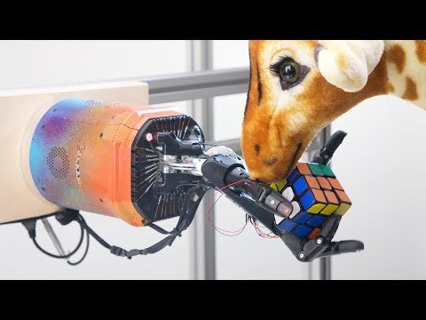 Solving Rubik's Cube with a Robot Hand: Perturbations