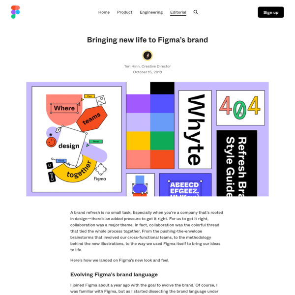 Bringing new life to Figma's brand