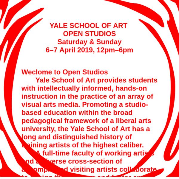 YSOA Open Studios April 6-7 2019