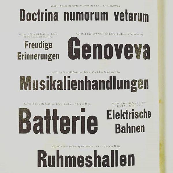Schmale Steinschrift, approx. 1886, J. G. Schelter & Giesecke #typespecimen #steinschrift