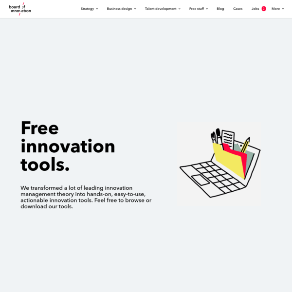 Tools - Board of Innovation