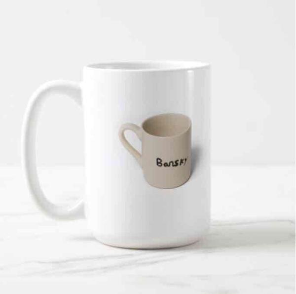 Bansky mug classic mug 15oz