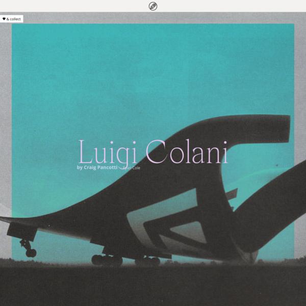 Luigi Colani on penccil