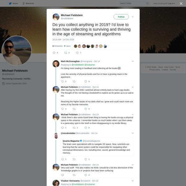 Michael Feldstein on Twitter
