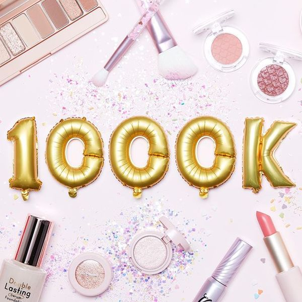 . [ETUDE HOUSE] Thank You to Our Friends! We've Hit 1 Million( #1000k ) Followers! Thanks to all of our fans! We love hearin...