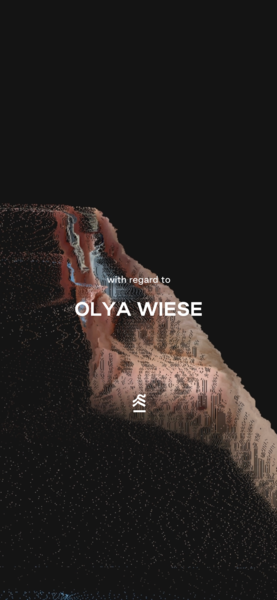 get to know OLYA WIESE