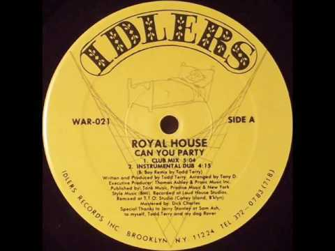 Royal House - Can You Party (Club Mix) - 1988