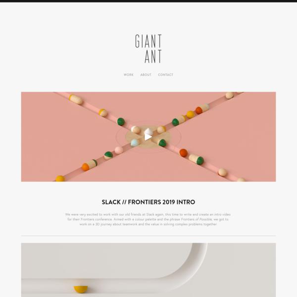 Giant Ant - Slack - Frontiers