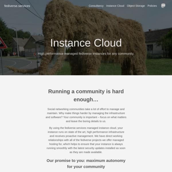 Instance Cloud
