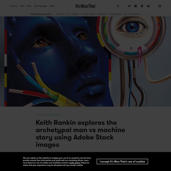 Keith Rankin explores the archetypal man vs machine story using Adobe Stock images