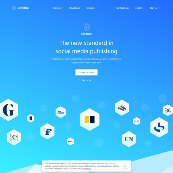 The new standard in social media publishing