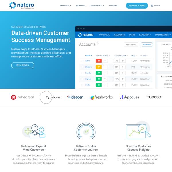 Customer Success Software   Natero