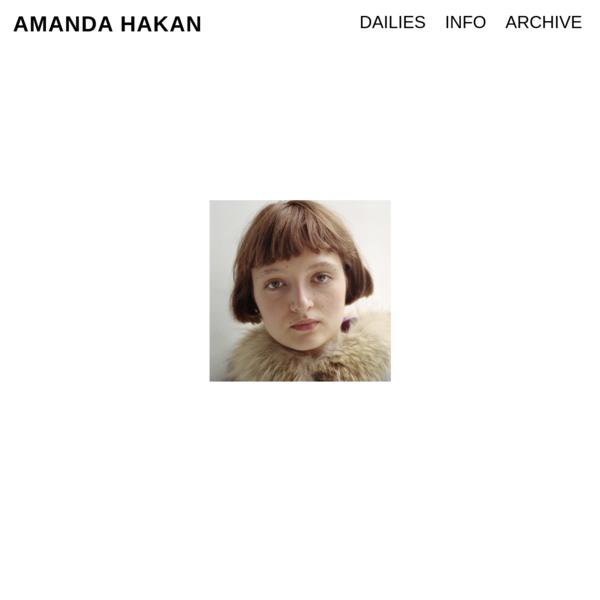 Amanda Hakan