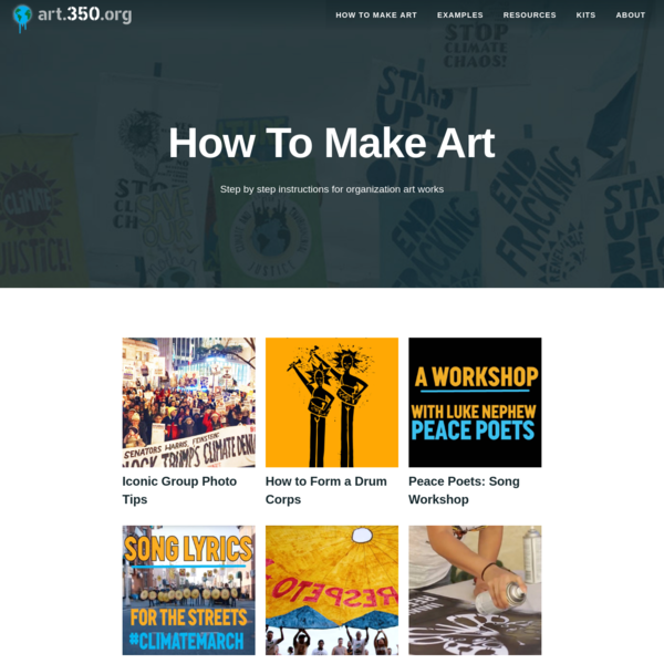 Guides: How to Make Art