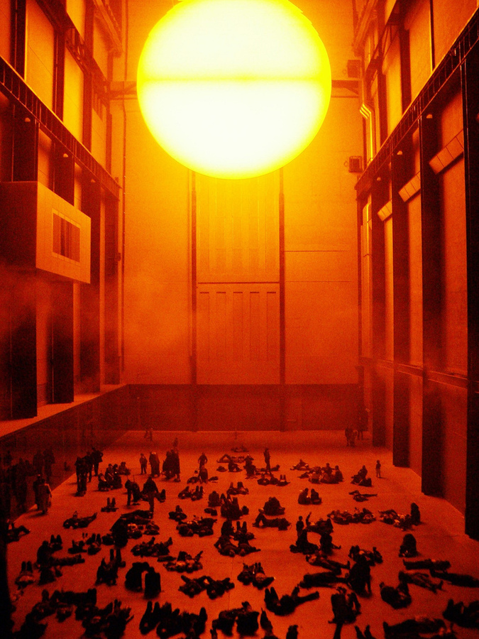Olafur Eliasson, The Weather Project (2003, Tate Modern)