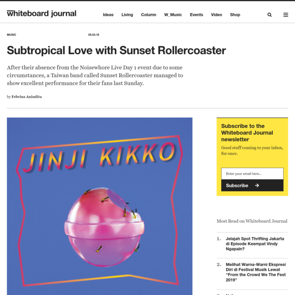 Subtropical Love with Sunset Rollercoaster