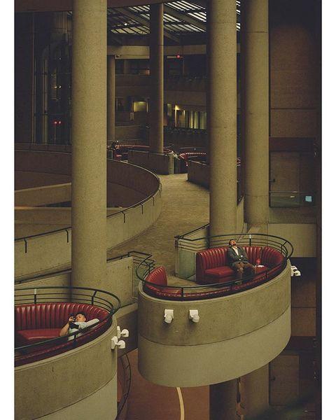 bonaventure hotel, john portman, 1976   downtown los angeles