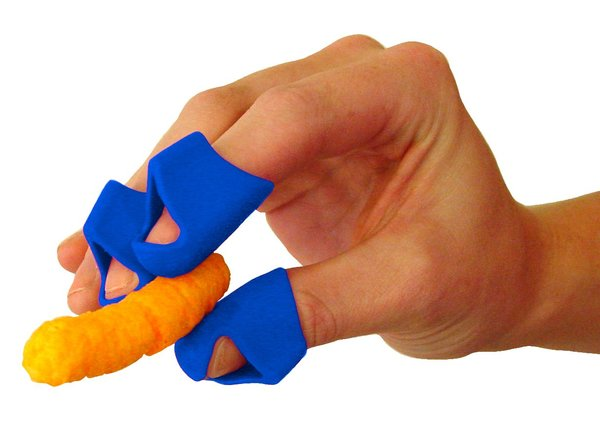 Finger Covers for Cheesy, Greasy, Sticky Fingers, ChipFingers