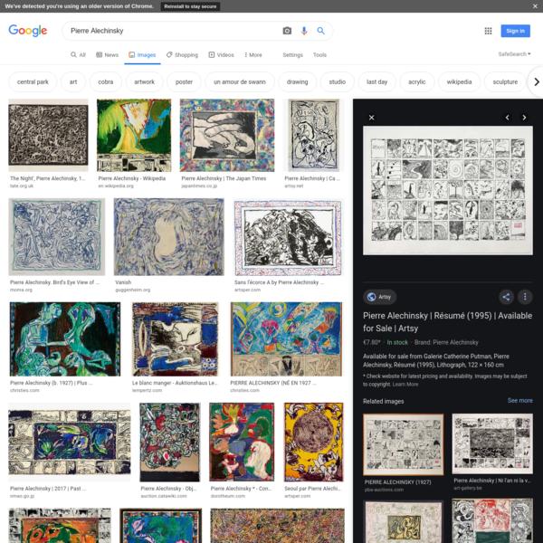Pierre Alechinsky - Google Search