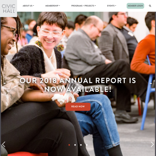 Civic Hall | The Home for Civic Tech in NYC