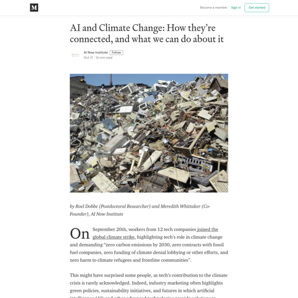 AI and Climate Change: How they're connected, and what we can do about it