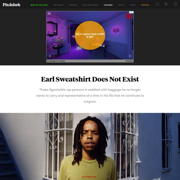 Earl Sweatshirt Does Not Exist
