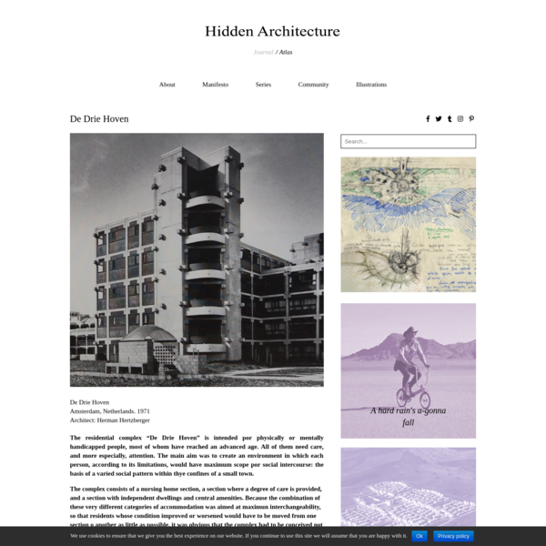 De Drie Hoven - Hidden Architecture