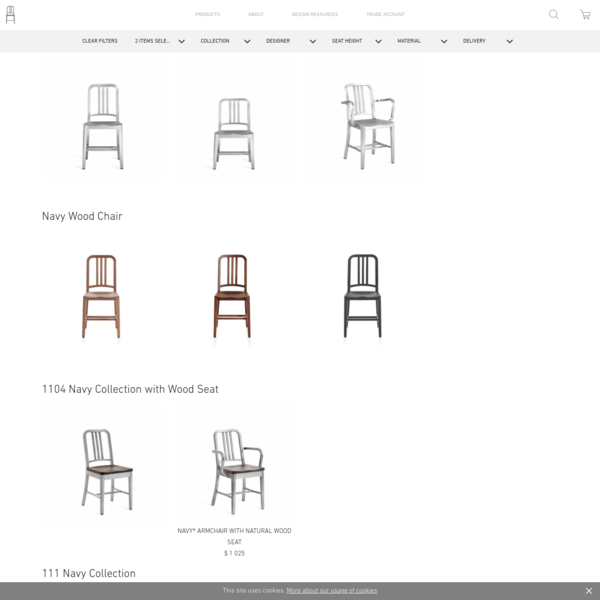 Chairs by Emeco