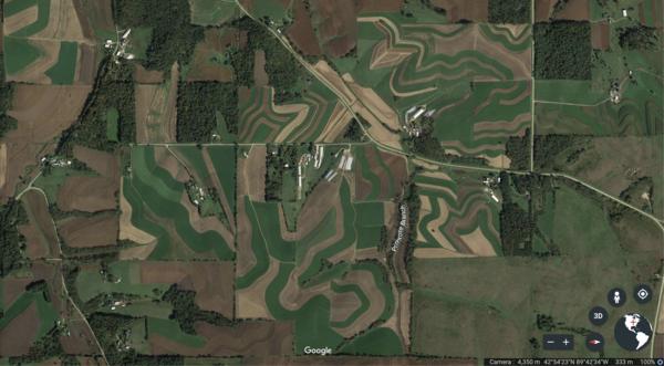 somewhere between Primrose and Mt Horeb (Wisconsin)