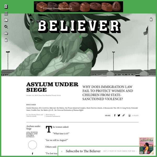 Asylum under Siege - Believer Magazine