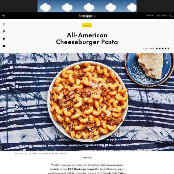 All-American Cheeseburger Pasta Recipe